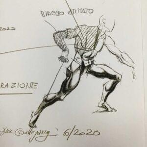 Ergo Shirt Fencing F1MP MAN