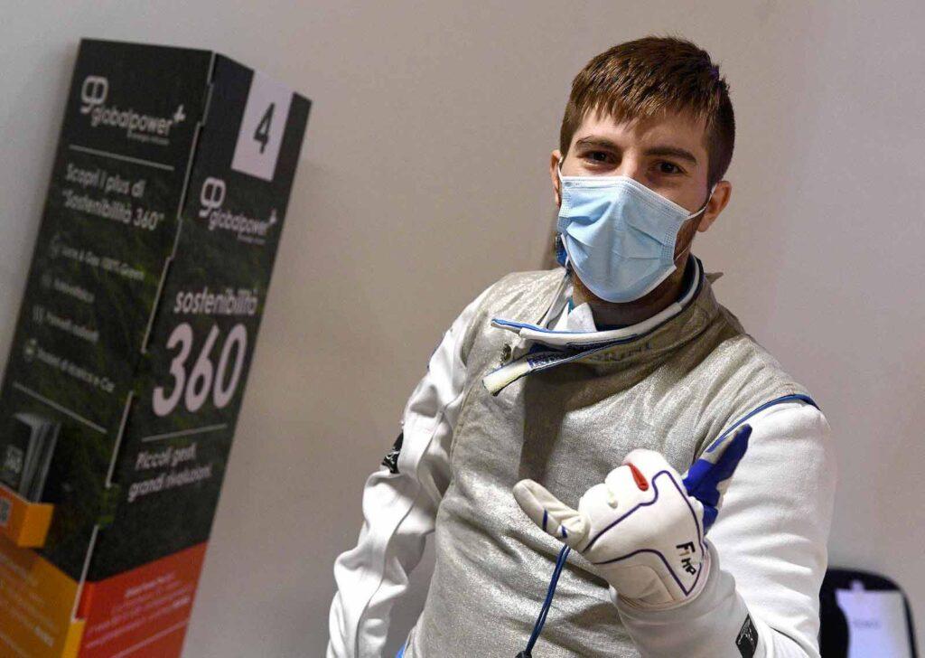 Matteo dei Rossi campione paraolimpico
